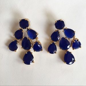 Kate Spade Jewelry K A T E S P A D E Nwot Blue Earrings Poshmark